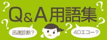 Q&A 用語集